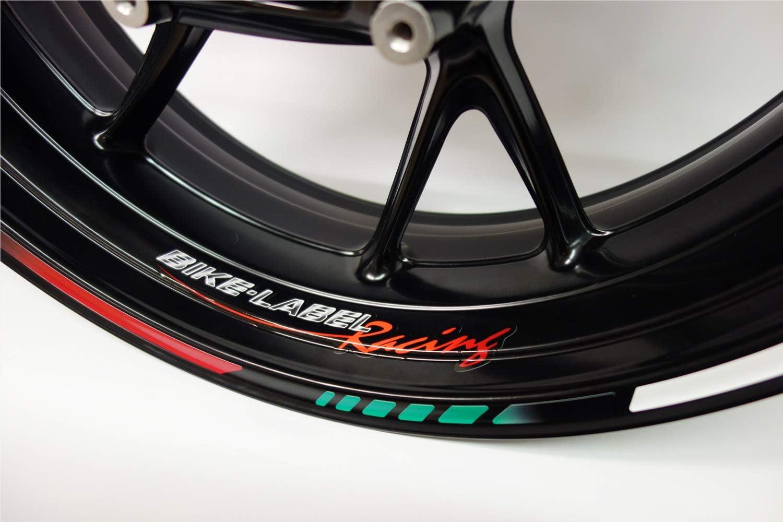 Bike Label 710012 Felgenrand Aufkleber Italien Italia Flagge Auto