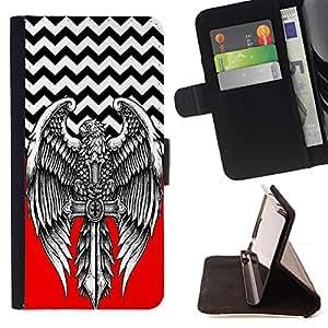 Dragon Case - FOR Samsung Galaxy Note 3 III - A merry heart - Caja de la carpeta del caso en folio de cuero del tir¨®n de la cubierta protectora Shell