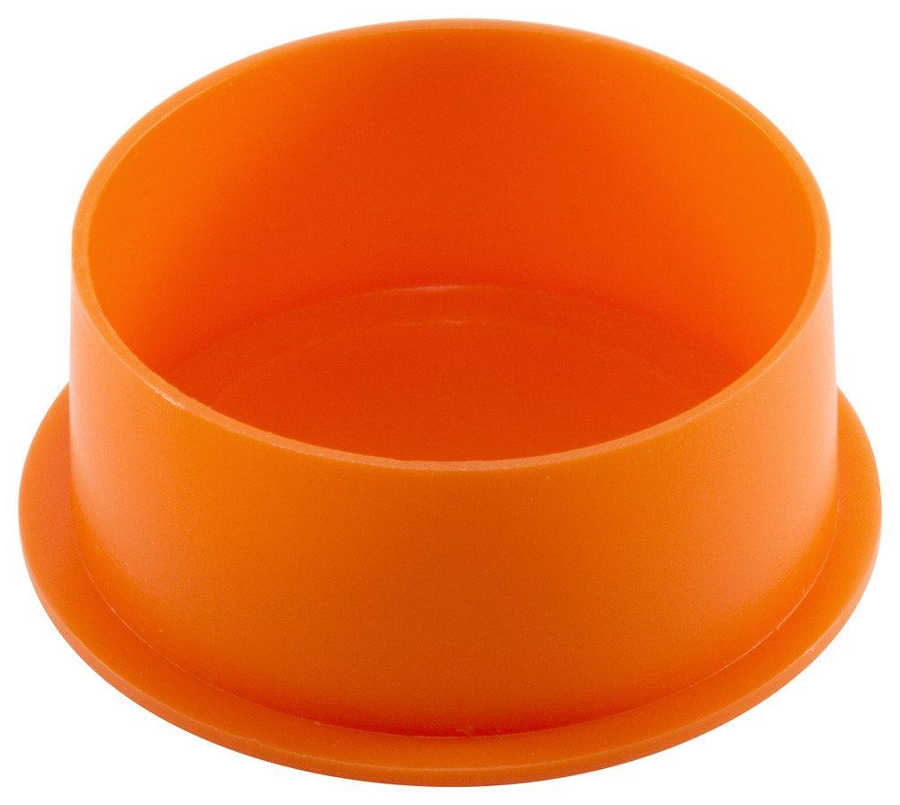 Caplugs QPZ104Q1 Plastic Unified Plug. PZP-104, PE-LD, To plug thread size -'', Orange (Pack of 200)