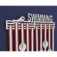 Soporte para medallas – exhibidor de medallas de natación (450 mm)