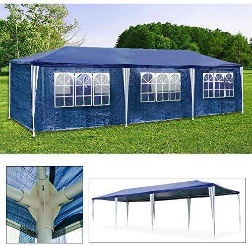 HG Carpa Pabellón 3 x 9 m tienda de campaña de cúpula polietileno ...