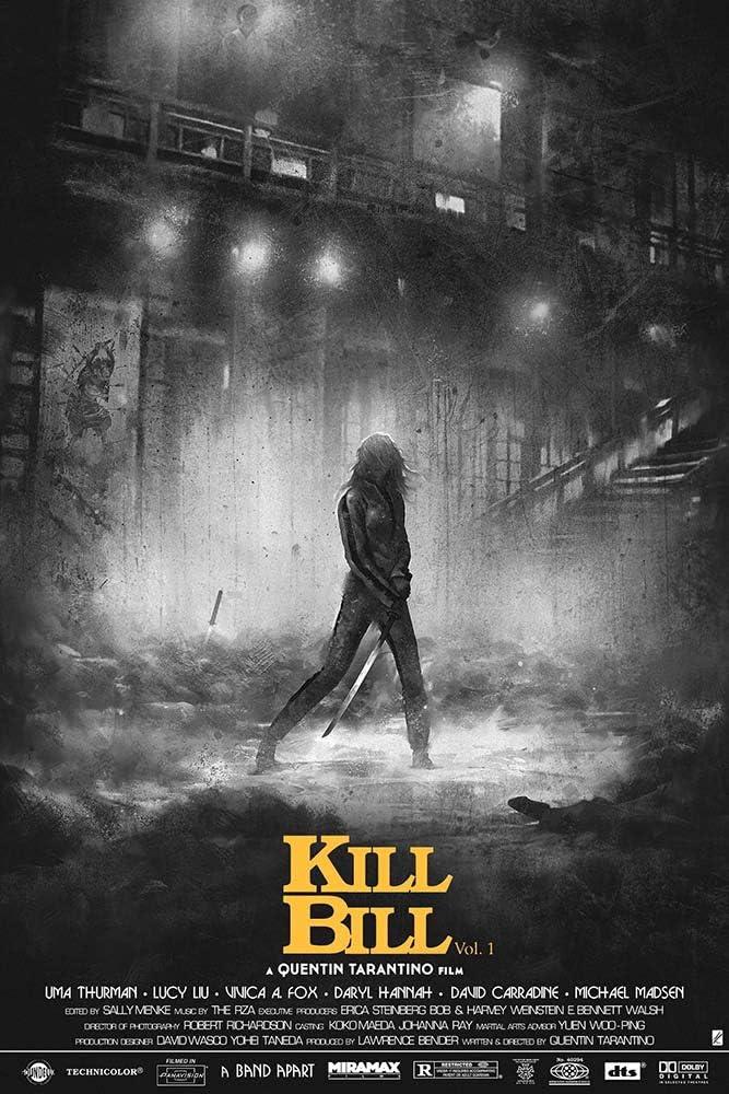 GZCJHP Kill Bill Hot Movie Art Silk Poster Print 24x36 inch for Room Decor Decoration-002 (24x36inch Silk)