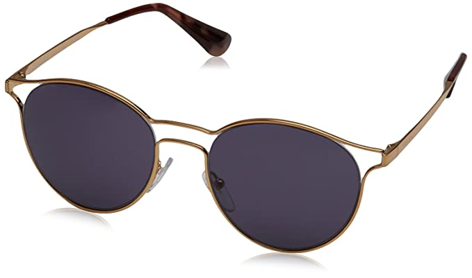 b13572accca Prada Women s PR 62SS Sunglasses Antique Gold Violet 53mm at Amazon ...