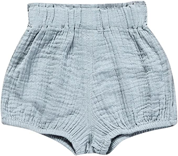Kids Tales 3 Pack of Kids Tales Kleinkind Baby M/ädchen Jungen Cotton Linen Sommer Blend Cute Bloomer Shorts
