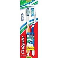 Colgate Escova Dental Tripla Ação, Cores Sortidas, 2 Unidades