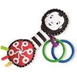 Manhattan Toy Wimmer-Ferguson Grasp and Grow Activity Rattle and Teether