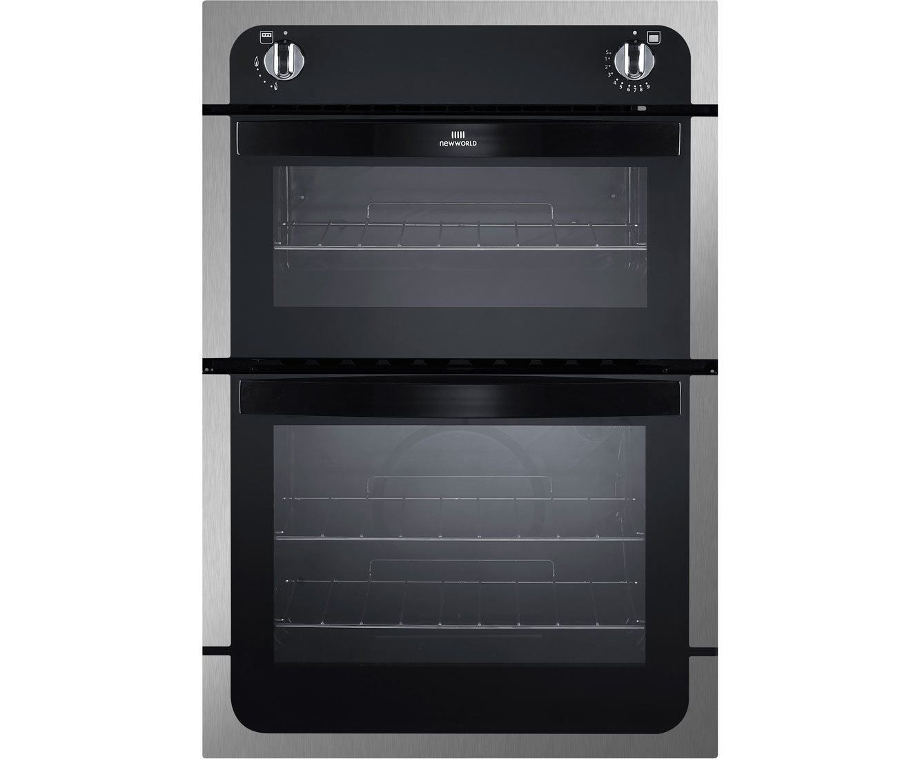 Single Oven With Grill Part - 41: New World NW901GSTA 900mm Built-in Single Gas Oven Grill FSD S\/Steel:  Amazon.co.uk: Large Appliances
