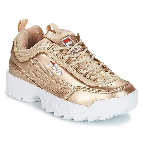Fila Disruptor MM Low Gold 101044280C, Deportivas: MainApps: Amazon.es: Zapatos y complementos