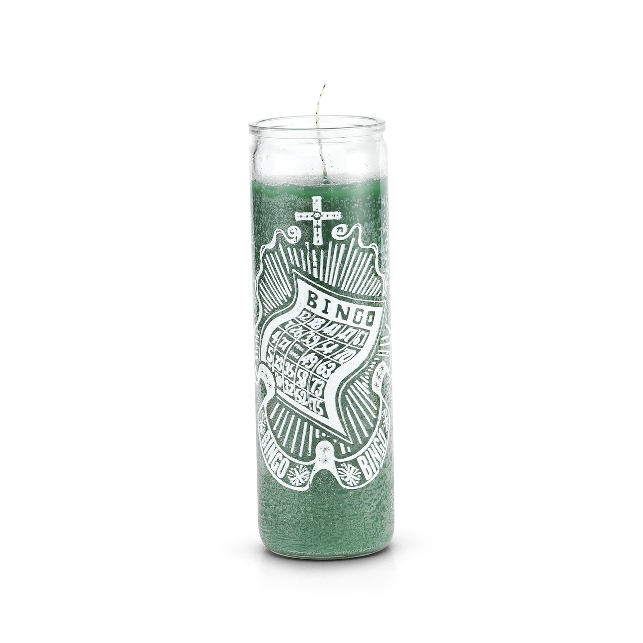 Bingo 7 Day 1 Color Prayer Candle by The Original Candle Company