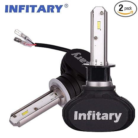 Amazon.com: Alunar - Bombillas LED para faros delanteros H4 ...