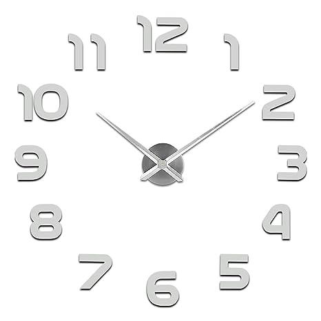 SOLEDI Orologio da Parete Silenzioso Preciso Fai da Te 60-120cm ...