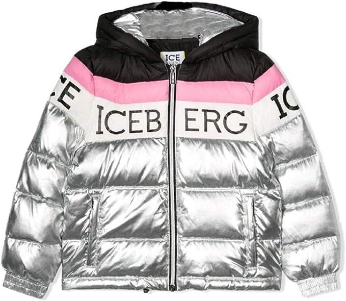 Iceberg Giubbino Bambina GBICEF9301J Argento AI19 XXL