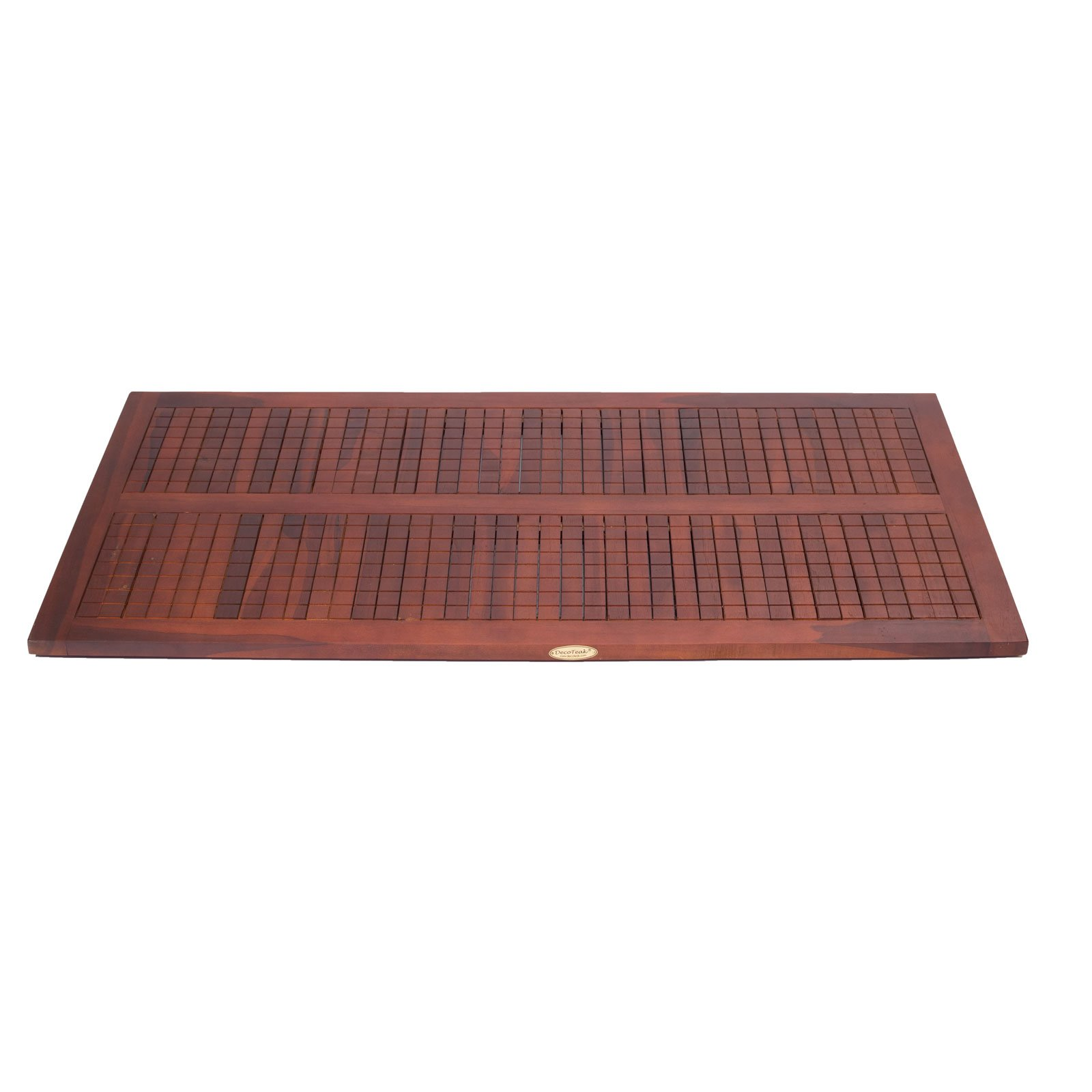 40'' X 20'' Non Slip Teak Shower Floor Bath Bathroom Mat by Decoteak (Image #2)