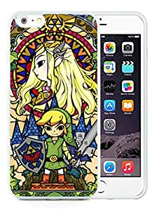 Perfect fit for your beloved phone,100% Brand New Legend Of Zelda White For iPhone 6 Plus (5.5) TPU Case