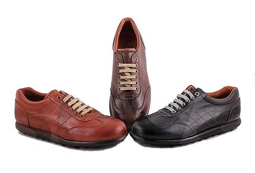 Fendel - 102 - Zapato Caballero Piel - 44, Negro