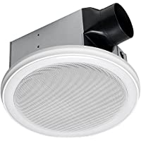 HOMEWERKS WORLDWIDE 7130-02-BT Bluetooth Bath Fan & Speaker