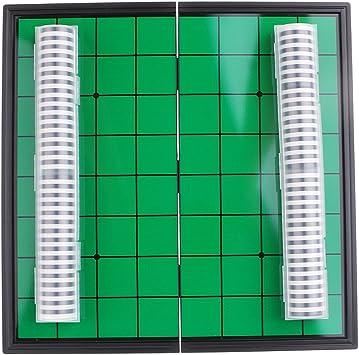 FLAMEER 25cm Magnético Plegable Portátil Reversi Othello Board Chess Juego para Padres E Hijos: Amazon.es: Juguetes y juegos