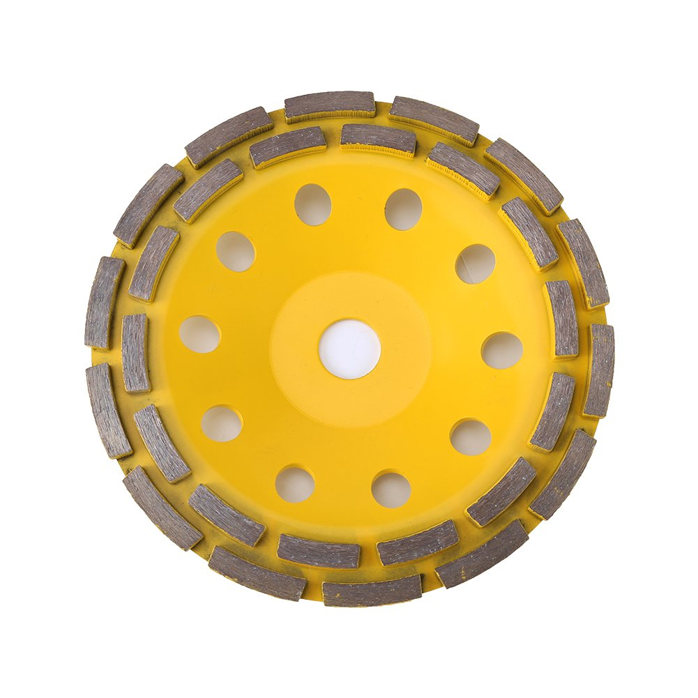 Yosooo 115MM//125MM//180MM Diamond Grinding Cup Segment Wheel Disc,Brick Concrete Cut for Angle Grinder 2#