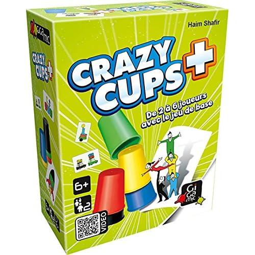 Gigamic AMHCP - Jeu de réflexe - Crazy Cups Plus