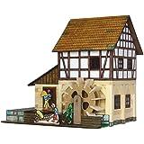 Walachia Fachwerk-Wassermühle Holz Modellbauset Modellbahn Spur 1/ LGB 1:32
