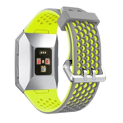 fitbit ionic accesorios fitbit ionic correas reemplazo Fitbit Ionic funda protector correas de repuesto silicona ligera