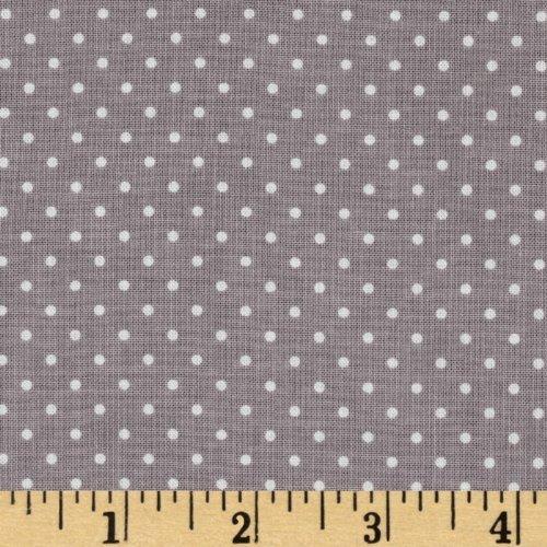 (Riley Blake Designs Riley Blake Swiss & Dots Gray/White Fabric By The Yard)