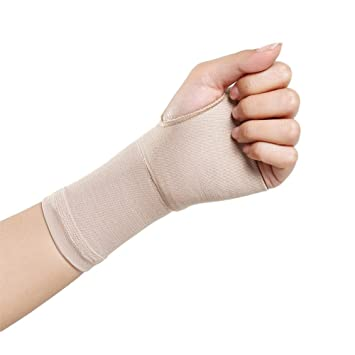 8fab68db6a BUYITNOW Medical Grade Compression Recovery Wrist Sleeves Brace with Thumb  Hole Hand Wraps Support Daily Use
