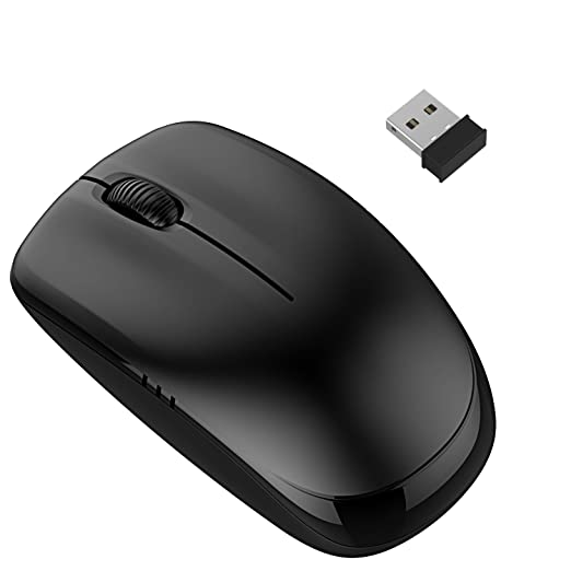 715 opinioni per Mouse Wireless, JETech Mouse senza fili 2.4Ghz Wireless Mobile Mouse Ottico con