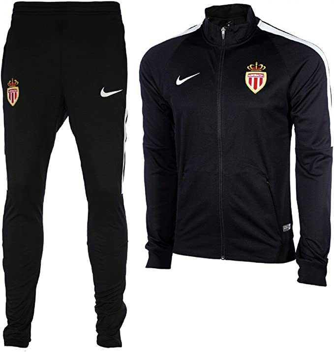 Nike ASM M NK Dry TRK Suit SQD K Chándal, Hombre, Negro (Black ...