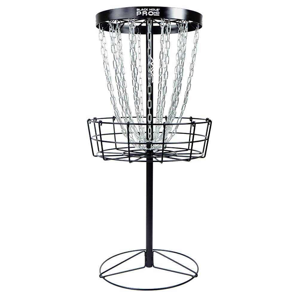 MVP Black Hole Pro HD 24-Chain Portable Disc Golf Basket Target by MVP Disc Sports