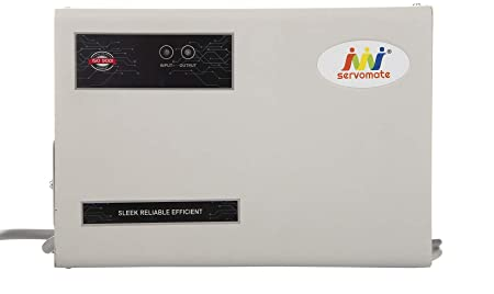 Servomate 4 KVA Automatic Voltage stabilizer Upto 1.5 ton ac  170v 270v