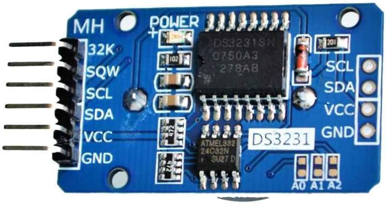 Aiming Para Arduino DS3231 AT24C32 ZS042 CII Módulo de precisión RTC Reloj de Tiempo Real Memoria Nueva