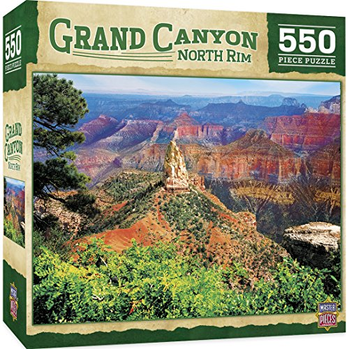 MasterPieces Grand Canyon North Rim 500 Piece Jigsaw Puzzle