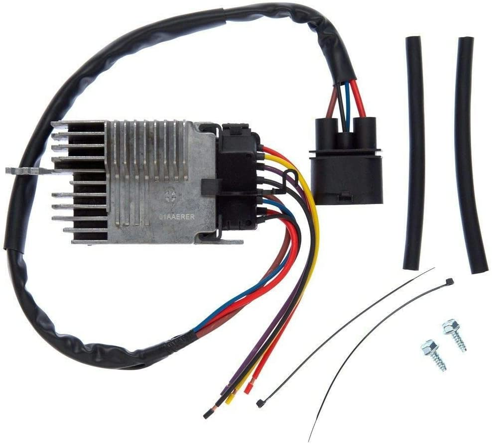 Radiator Fan Control Module for 02-09 Audi A4 A4 Quattro Cabriolet 8E0959501AG