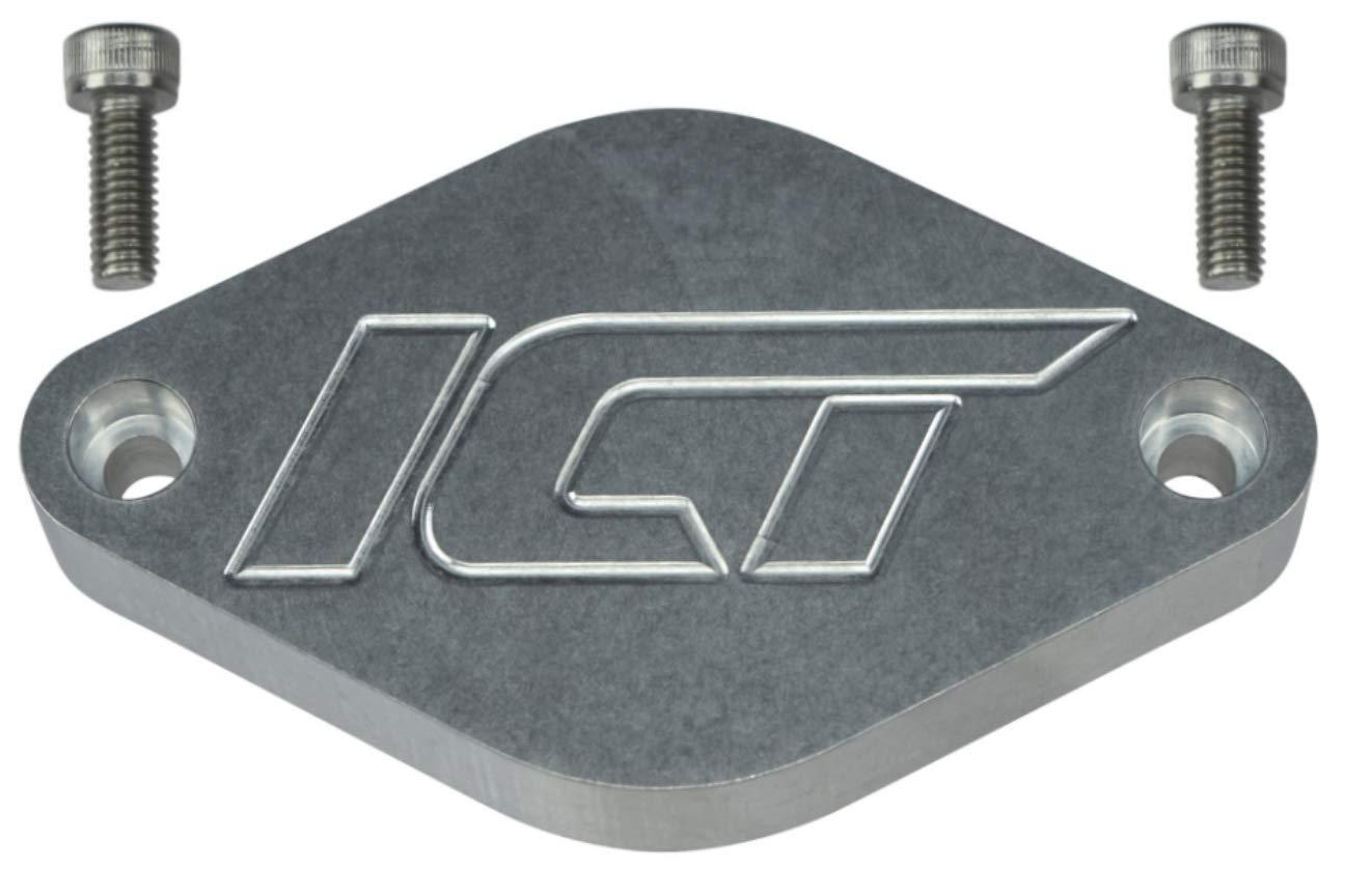 ICT Billet Duramax Diesel 2011-13 LML Resonator Port Plate Cover Cap 6.6L 551505Z