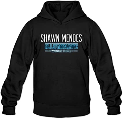 Shawn Mendes Illuminate College Pullover Man Black