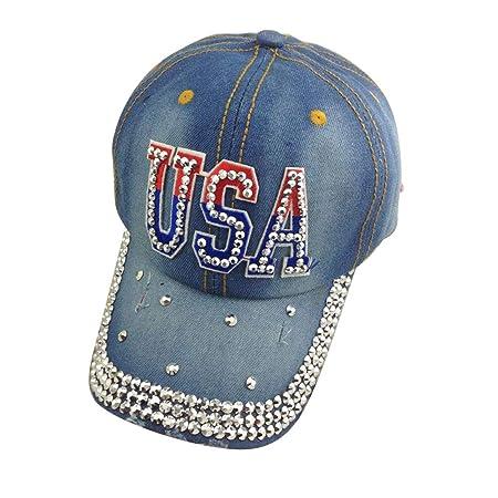 MAGAI Nueva Gorra De Béisbol De Vaquero De Estados Unidos, Estados ...