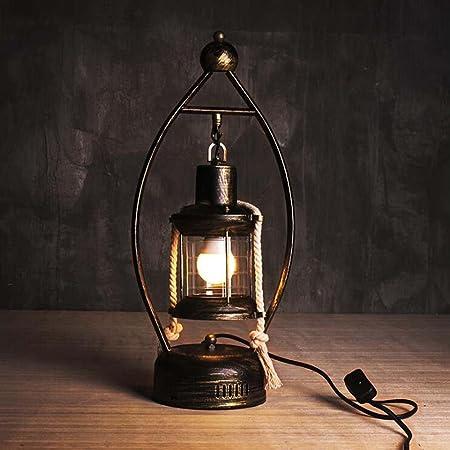 Amazon.com: Lámparas de mesa vintage vintage linternas ...