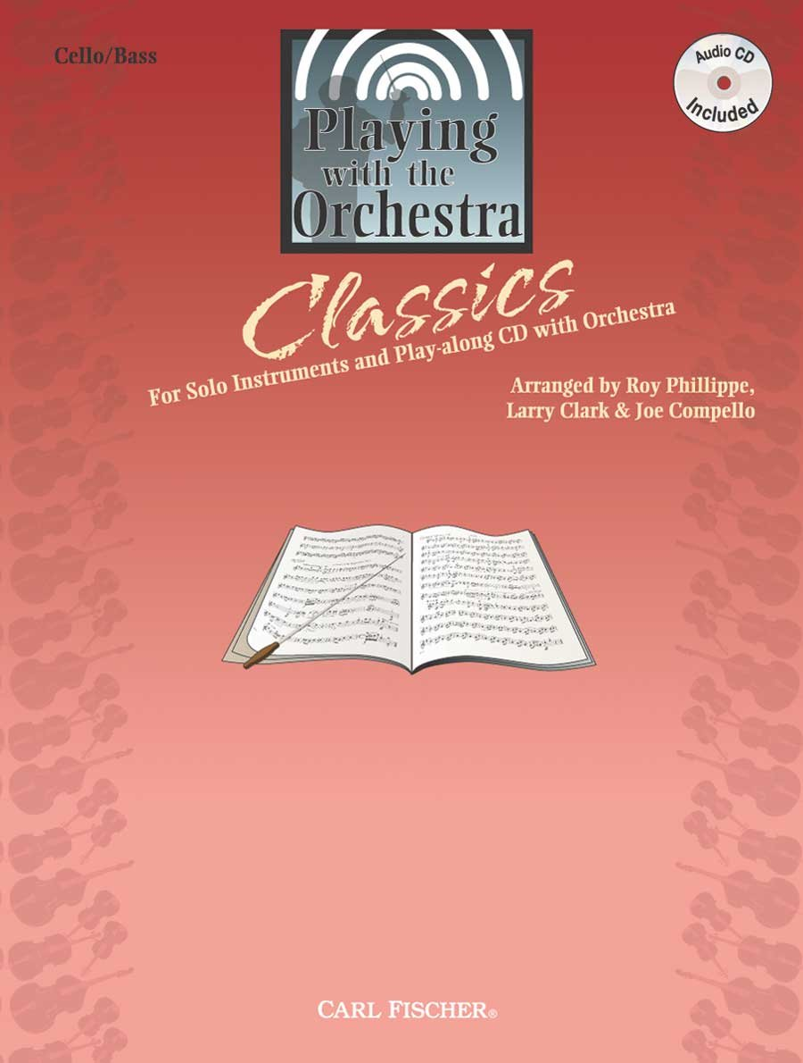Playing with the Orchestra - Cello/Bass - BK/CD PDF