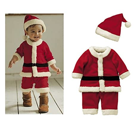Ropa Navidad Bebé - Traje Santa Niño Infantil 2pcs Traje ...