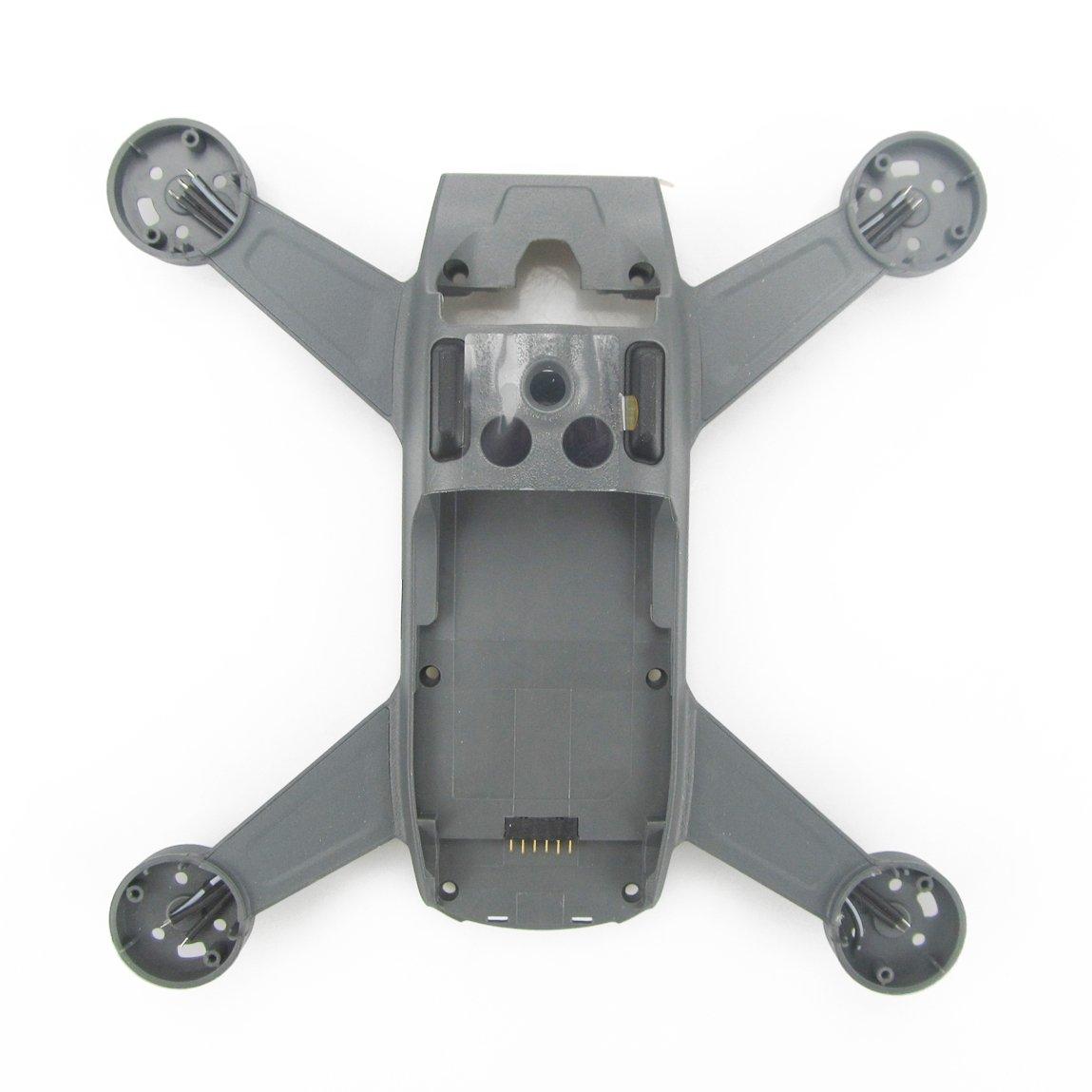 Drone Cadre Moyen Kismaple Ch/âssis de logement de b/âti de Shell de logement de Cadre Central pour DJI Spark Accessoires Remplacement