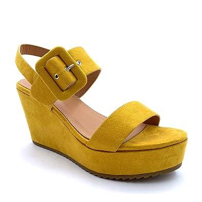 8e31b445b71 Angkorly - Women's Fashion Shoes Mules Sandals - Vintage/Retro ...