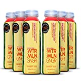 organic dehydrated ginger - Cold Pressed Watermelon Juice With Organic Ginger (WTRMLN GNGR) - Deliciously Hydrating 100% Fresh Fruit Juice, Pulp-Free, Natural Drink With No Added Sugar or Water, 6 Pack, 12 Ounce Bottle