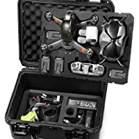 Lekufee Waterproof Hard Case Compatible with DJI FPV Combo and More DJI FPV Drone Accessories(NOT Include Drone and…