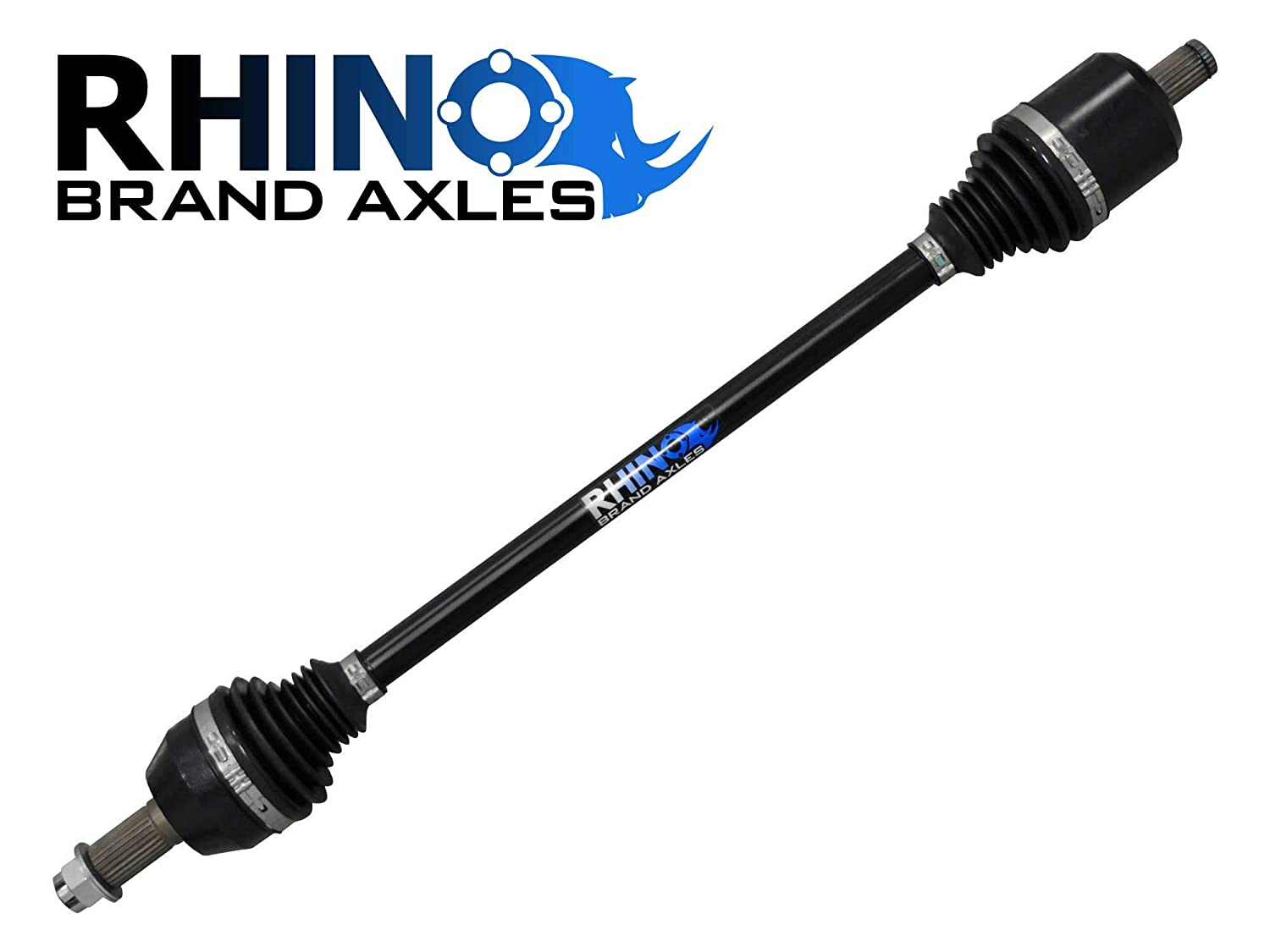 Upgrade From Your OEM Axle! - Stock Length FRONT Axle 2016+ SuperATV Heavy Duty Rhino Brand Front Axle for Polaris RZR XP Turbo// 4 Turbo