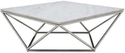 Amazoncom Nuevo Jasmine Marble Top Coffee Table Polished - Nuevo marble coffee table