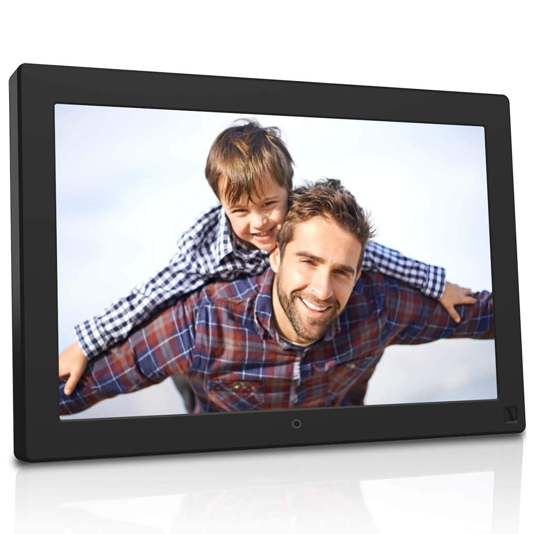 BSIMB 10.1 Inch Digital Photo Frame Digital Picture Frame 1280x800 Built-in 8GB Memory IPS Screen Electronic Photo Frame with Motion Sensor/Auto Rotate/Music&Video Playback/Remote Control M10 by Bsimb