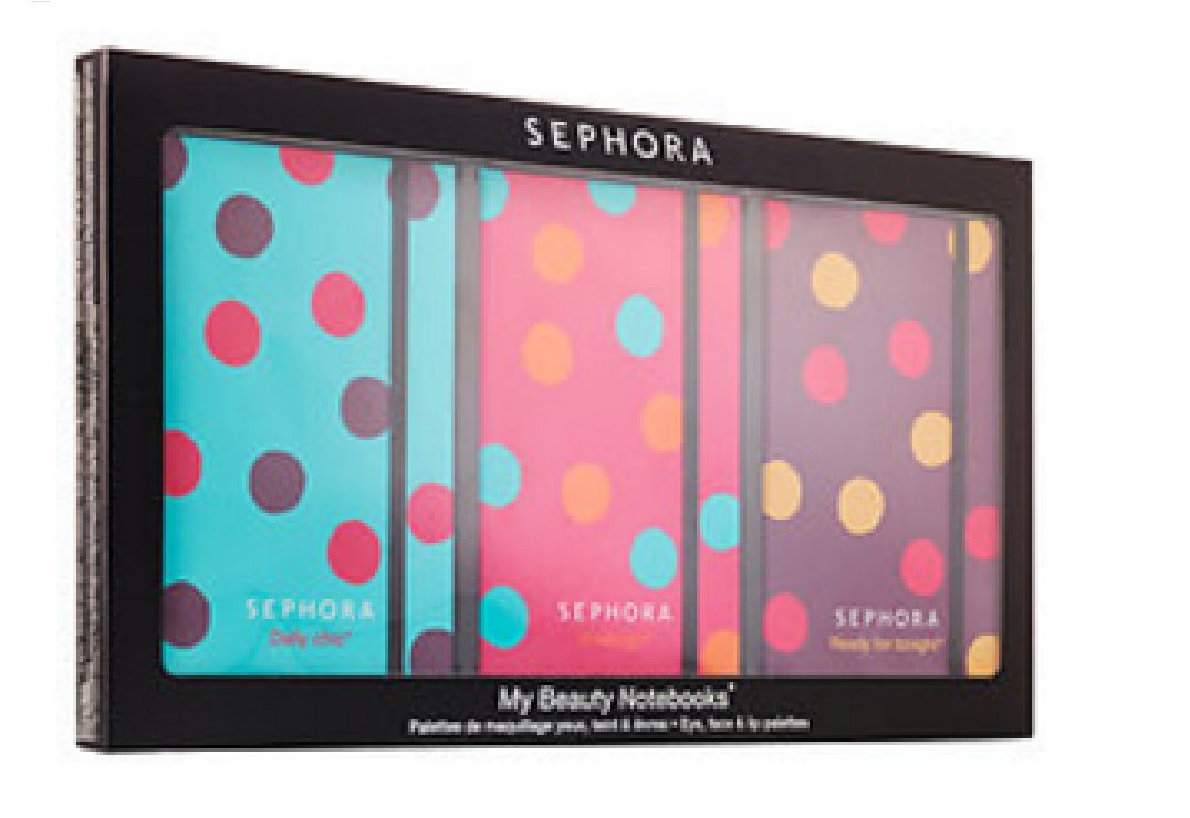 SEPHORA COLLECTION My Beauty Notebooks Eye, Face Lip Palettes