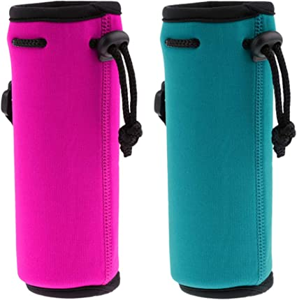 Water Bottle Sleeve Cover Neoprene Insulated Bag Case Pouch Carrier Protector XE
