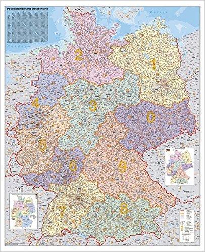 deutschland-postleitzahlenkarte-stiefel-wandkarte-kleinformat-67-x-87-cm-poster-laminiert
